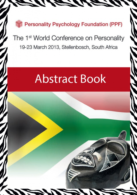 Conference 2013 abstract book cover